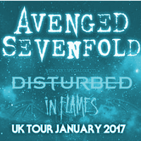 avenged-sevenfold-hydro-glasgow Avenged Sevenfold - Disturbed - In Flames