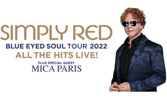 simpley red tickets hydro glasgow 2022