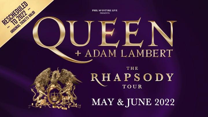 queen adam lambert hydro glasgow tickets