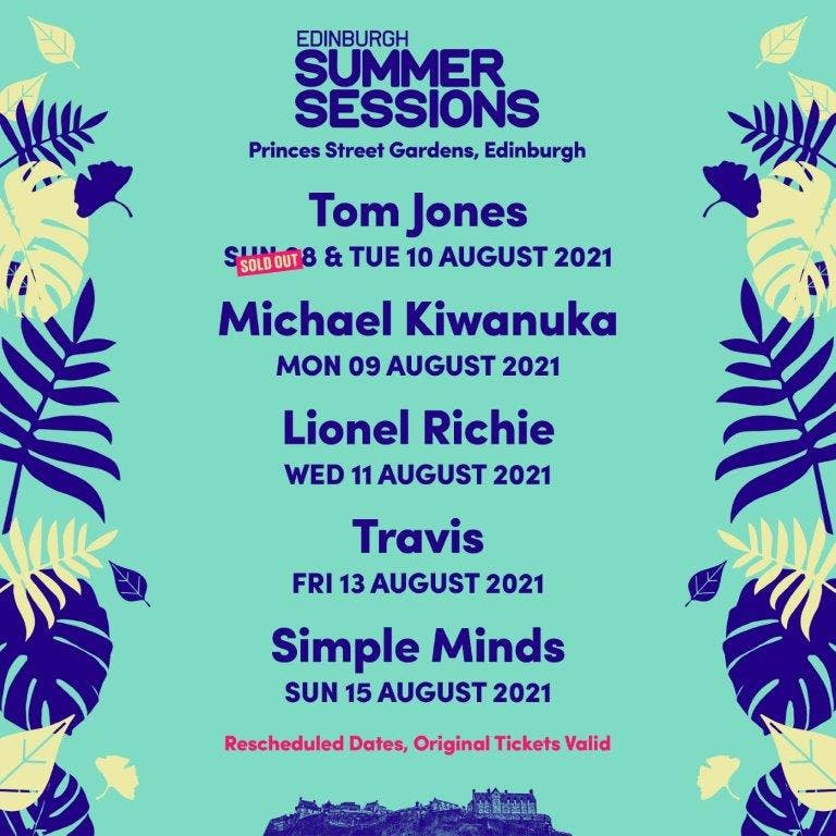 Edinburgh Summer Sessions 2021