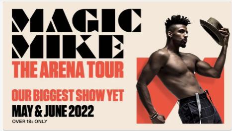 magic mike tickets hydro glasgow