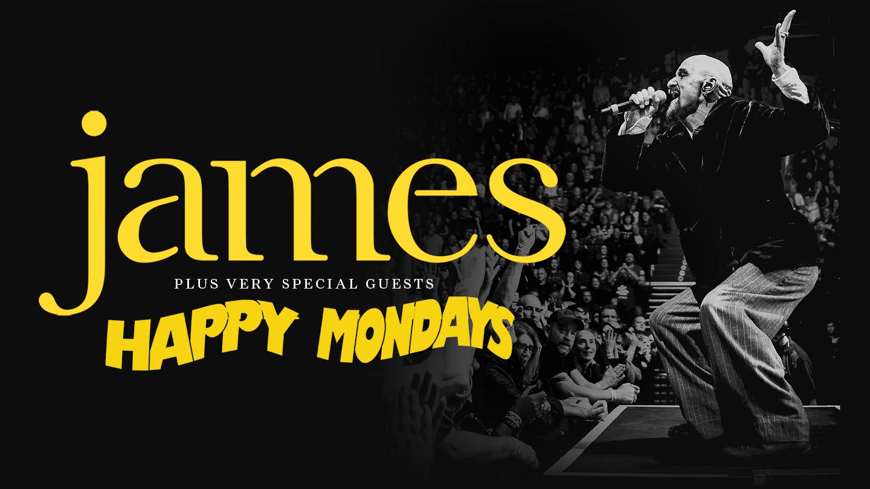 James happy mondays tickets hydro glasgow