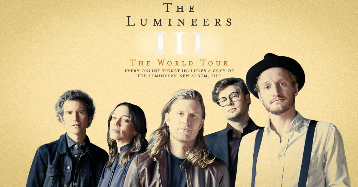 TheLumineers tour tickets hydro glasgow