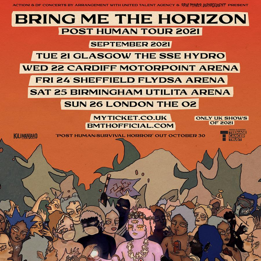 bring me the horizon tickets hydro glasgow