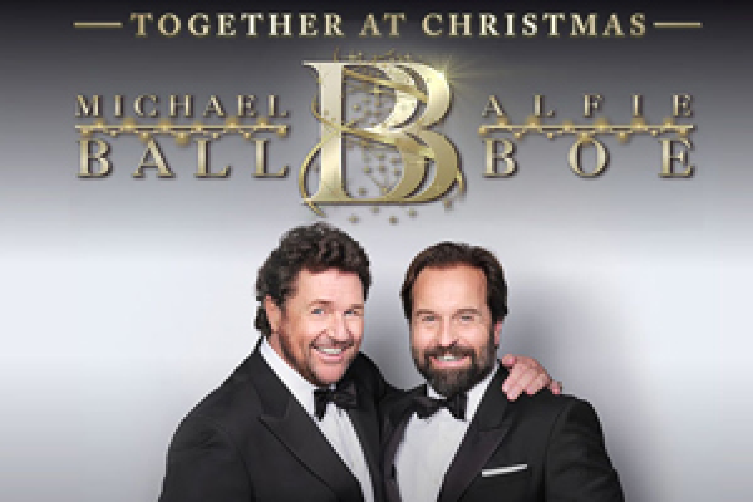 michael ball and alfie boe together at christmas tour tickets Hydro Glasgow