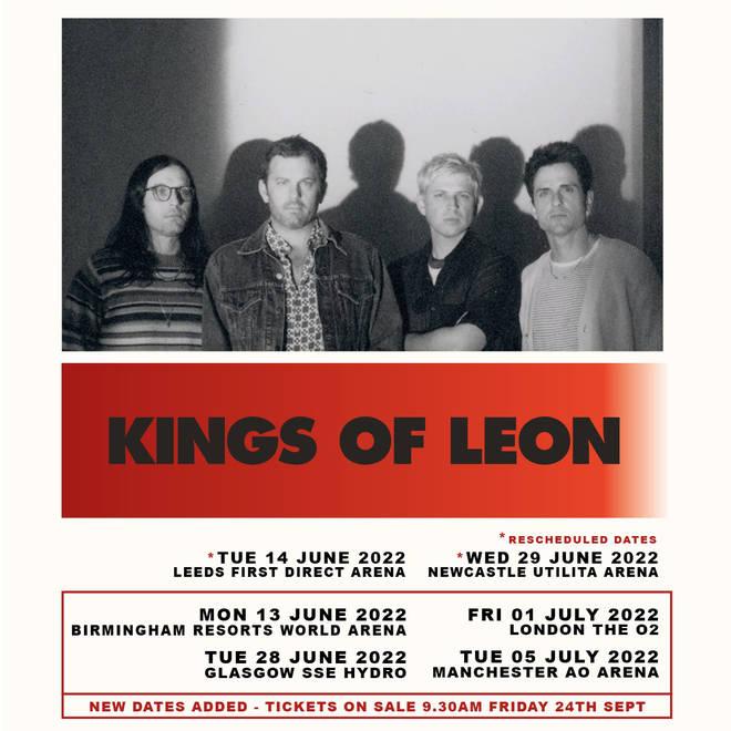 kings of leon tickets hydro glasgow 2022